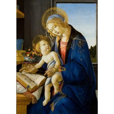 Puzzle Grafika-Kids-00698 Sandro Botticelli: Madonna des Buches, 1480