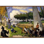 Puzzle  Grafika-Kids-00707 Paul Cézanne: Die Fischer (fantastische Szene), 1875