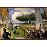 Puzzle  Grafika-Kids-00708 Paul Cézanne: Die Fischer (fantastische Szene), 1875