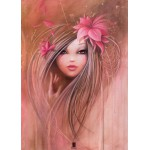 Puzzle  Grafika-Kids-00745 Misstigri: Sweet Pinky Girl