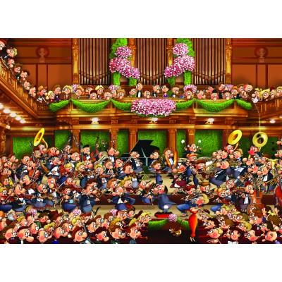 Puzzle Grafika-Kids-00807 François Ruyer: Orchester