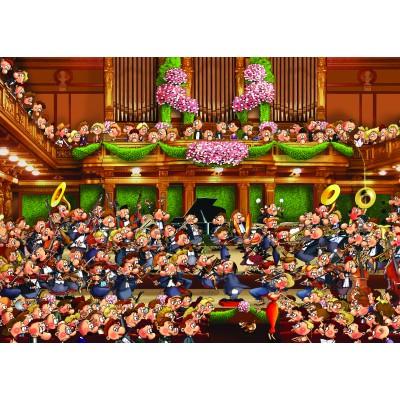 Puzzle Grafika-Kids-00811 Magnetische Teile - François Ruyer: Orchester