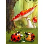 Puzzle  Grafika-Kids-00825 François Ruyer: Poker