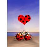 Puzzle  Grafika-Kids-00836 XXL Teile - François Ruyer: Love
