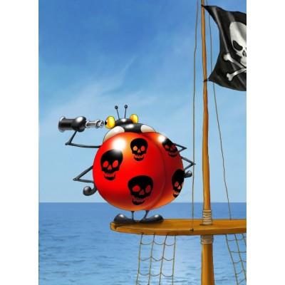 Puzzle Grafika-Kids-00838 François Ruyer: Piraten