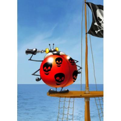Puzzle Grafika-Kids-00841 Magnetische Teile - François Ruyer: Piraten