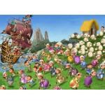 Puzzle  Grafika-Kids-00847 Magnetische Teile - François Ruyer: Piraten