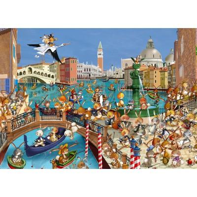 Puzzle Grafika-Kids-00858 Magnetische Teile - François Ruyer: Venedig