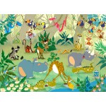 Puzzle  Grafika-Kids-00870 François Ruyer: Jungle