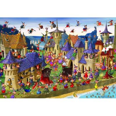 Puzzle Grafika-Kids-00880 François Ruyer: Hexen