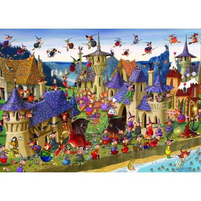 Puzzle Grafika-Kids-00881 François Ruyer: Hexen