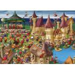 Puzzle  Grafika-Kids-00892 Magnetische Teile - François Ruyer: Hexen
