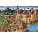 Puzzle  Grafika-Kids-00893 XXL Teile - François Ruyer: Hexen