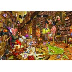 Puzzle  Grafika-Kids-00898 XXL Teile - François Ruyer: Hexe