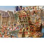 Puzzle  Grafika-Kids-00899 François Ruyer: Piraten