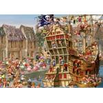 Puzzle  Grafika-Kids-00902 Magnetische Teile - François Ruyer: Piraten