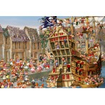 Puzzle  Grafika-Kids-00903 XXL Teile - François Ruyer: Piraten