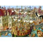 Puzzle  Grafika-Kids-00904 François Ruyer: Kaninchen!