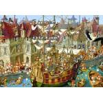 Puzzle  Grafika-Kids-00905 François Ruyer: Kaninchen!