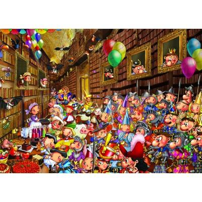 Puzzle Grafika-Kids-00912 Magnetische Teile - François Ruyer: Prinzessin