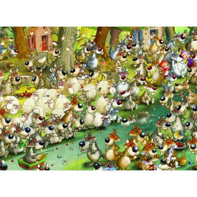 Puzzle Grafika-Kids-00914 François Ruyer: Wölfe!