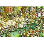 Puzzle  Grafika-Kids-00915 François Ruyer: Wölfe!