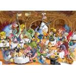 Puzzle  Grafika-Kids-00922 Magnetische Teile - François Ruyer: Restaurant