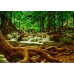 Puzzle  Grafika-Kids-00926 Wasserfall im Wald
