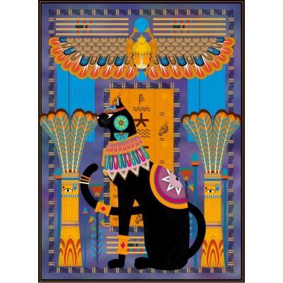 Puzzle Grafika-Kids-00966 Ägyptische Katze