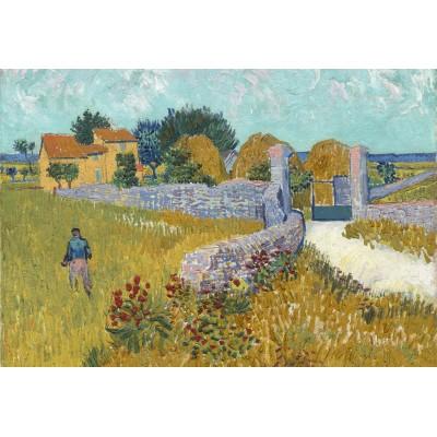 Puzzle Grafika-Kids-00995 XXL Teile - Vincent Van Gogh - Farmhouse in Provence, 1888