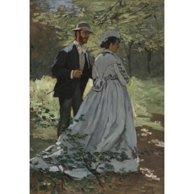 Puzzle Grafika-Kids-01021 Claude Monet - Bazille und Camille, 1865