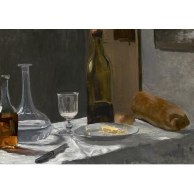 Puzzle Grafika-Kids-01033 Claude Monet - Stillleben mit Flaschen, 1863