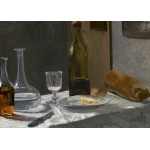 Puzzle  Grafika-Kids-01034 Magnetische Teile - Claude Monet - Stillleben mit Flaschen, 1863