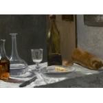 Puzzle  Grafika-Kids-01035 Claude Monet - Stillleben mit Flaschen, 1863