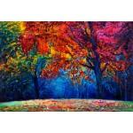 Puzzle  Grafika-Kids-01044 XXL Teile - Herbstwald