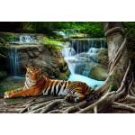 Puzzle  Grafika-Kids-01060 XXL Teile - Tiger