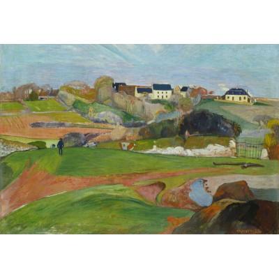 Puzzle Grafika-Kids-01089 XXL Teile - Paul Gauguin: Le Pouldu, 1890