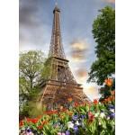 Puzzle  Grafika-Kids-01114 Eiffelturm, Frankreich