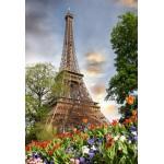 Puzzle  Grafika-Kids-01115 XXL Teile - Eiffelturm, Frankreich