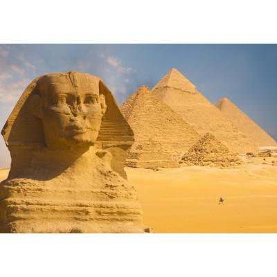 Puzzle Grafika-Kids-01142 XXL Teile - Sphinx und Pyramiden von Gizeh