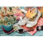 Puzzle  Grafika-Kids-01157 XXL Teile - Vintage Dancing Shoes