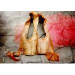 Puzzle  Grafika-Kids-01158 Vintage Dancing Shoes