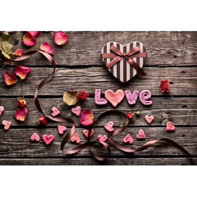 Puzzle Grafika-Kids-01182 XXL Teile - Love