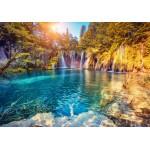 Puzzle  Grafika-Kids-01188 Nationalpark Plitvicer Seen, Kroatien