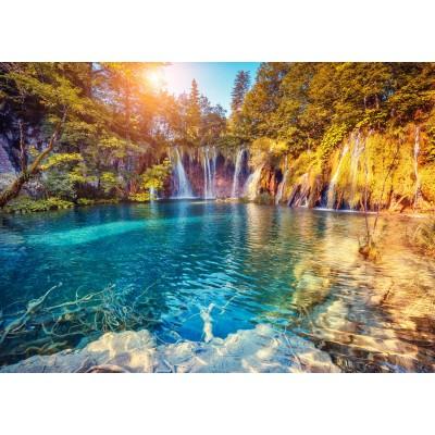 Puzzle Grafika-Kids-01190 Nationalpark Plitvicer Seen, Kroatien