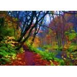 Puzzle  Grafika-Kids-01202 Herbstwald