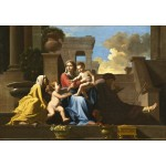 Puzzle  Grafika-Kids-01252 Nicolas Poussin: The Holy Family on the Steps, 1648