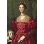Puzzle  Grafika-Kids-01253 Agnolo Bronzino: A Young Woman and Her Little Boy, 1540