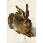 Puzzle  Grafika-Kids-01256 Albrecht Dürer - Hare, 1502