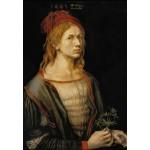 Puzzle  Grafika-Kids-01266 Albrecht Dürer - Selbstbildnis mit Eryngium, 1493